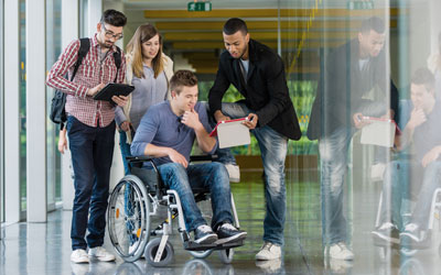 Rätselrallyes für Rollstuhlfahrer