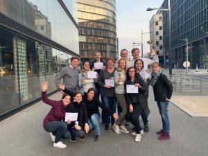 Die Gewinner der EHL Rätselrallye 12. April 2019