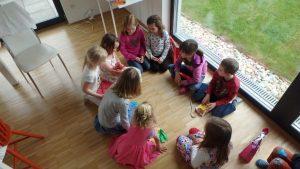 Kindergeburtstag und Spiele